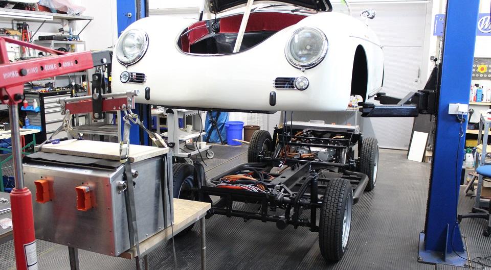Porsche 356-Speedster mit 55kWh-Lithumbatterie