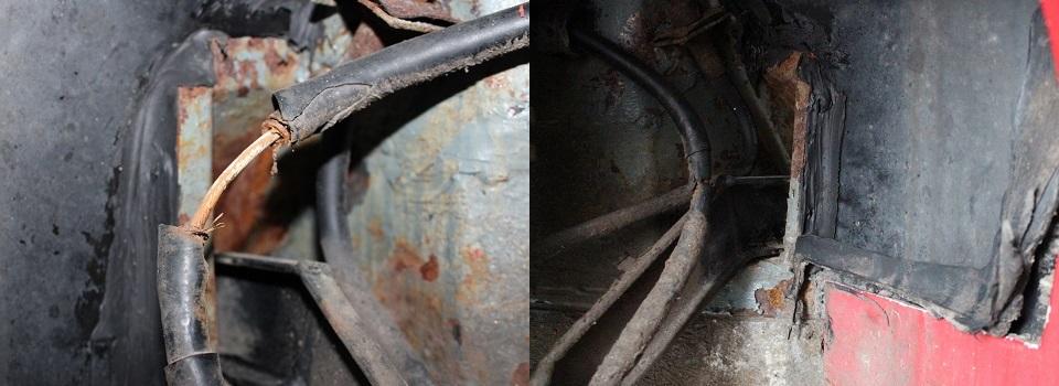 Fahrwerkaufhängung am Rahmen hinten, kritischste Stelle am Hotzenblitz