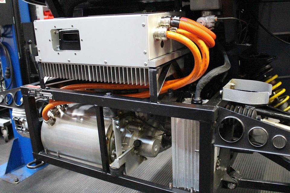 neue Antrieblösung 160V und 40kWpeack